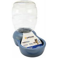 Petmate Pearl Replendish Waterer With Microban, Peacock Blue, 1/2-gal