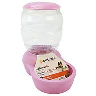 Petmate Pearl Replendish Feeder With Microban, Lady Pink, 2-lb