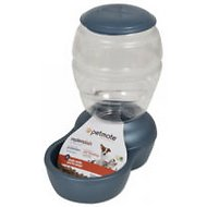 Petmate Pearl Replendish Feeder With Microban, Peacock Blue, 2-lb