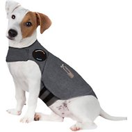 ThunderShirt Anxiety & Calming Solution for Dogs, Heather Grey, Small