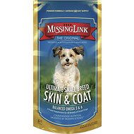 The Missing Link Ultimate Small Breed Skin & Coat Formula, 8-oz bag