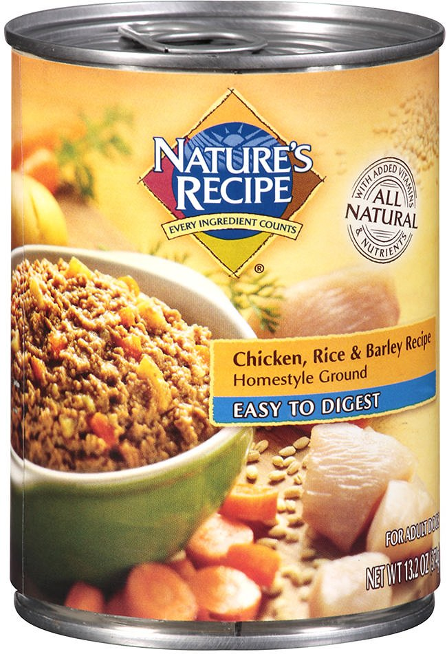 Natures recipe easy to digest chicken rice barley recipe video forumfinder Choice Image