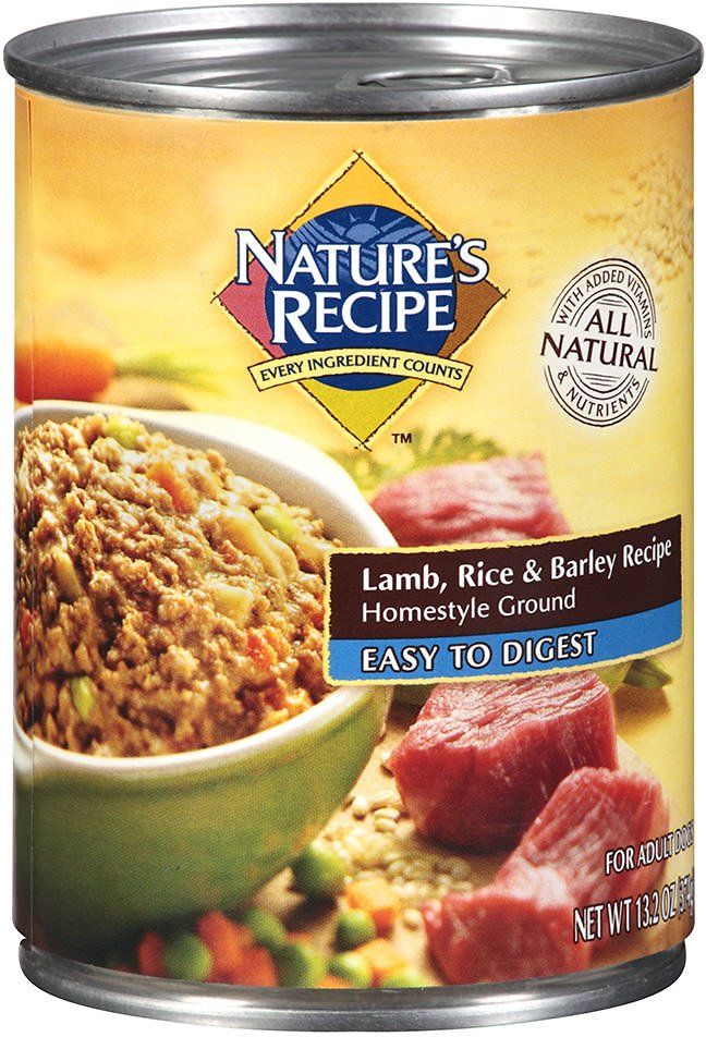 Natures recipe easy to digest lamb rice barley recipe homestyle video forumfinder Choice Image