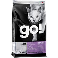 Go! Fit + Free Grain-Free Chicken, Turkey & Duck Recipe Dry Cat Food, 4-lb bag