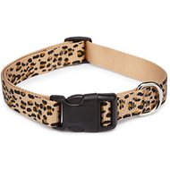 East Side Collection Animal Print Dog Collar, Cheetah, Small