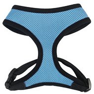 Casual Canine Mesh Dog Harness, Blue Pastel, Medium