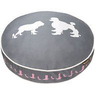 P.L.A.Y. Pet Lifestyle and You Heels & Boots Dog Bed, Grey, Medium