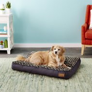 P.L.A.Y. Pet Lifestyle and You Serengeti Dog Bed, Copper, Medium