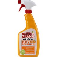 Nature's Miracle Oxy Pet Stain & Odor Remover, 24-oz bottle