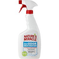Nature's Miracle Fresh Linen 3 in 1 Odor Destroyer, 24-oz bottle