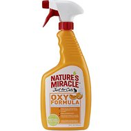 Nature's Miracle Just For Cats Oxy Cat Stain & Odor Remover, 24-oz bottle