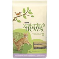 Yesterday's News Softer Texture Unscented Cat Litter, 26.4-lb bag