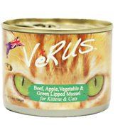 VeRUS Beef, Apple, Vegetable & Green Lipped Mussel Canned Cat Food, 6.5-oz, case of 24