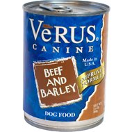 VeRUS Beef & Barley Formula Canned Dog Food, 13.2-oz, case of 12