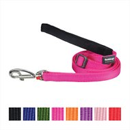 Red Dingo Classic Dog Lead, Hot Pink, 25mm