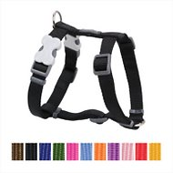 Red Dingo Classic Dog Harness, Black, Large
