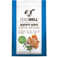 Dogswell Happy Hips Chicken & Oats Recipe Dry Dog Food, 22.5-lb bag