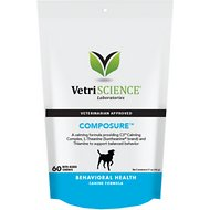 VetriScience Composure Behavioral Health Bite-Sized Dog Chews, 60 count