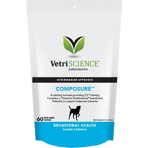 VetriScience Composure Behavioral Health Bite-Sized Dog Chews