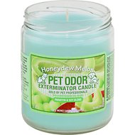 Pet Odor Exterminator Honeydew Deodorizing Candle, 13-oz jar