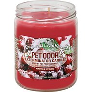 Pet Odor Exterminator Sugared Cranberry Deodorizing Candle, 13-oz jar