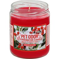 Pet Odor Exterminator Hollyberry Hills Deodorizing Candle, 13-oz jar