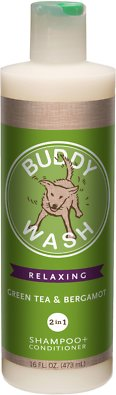 Buddy Wash 2-in-1 Dog Grooming Shampoo + Conditioner - Overall Shampoo Formula for Shih Tzu