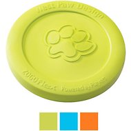 West Paw Zogoflex Zisc Dog Toy, Granny Smith, Large