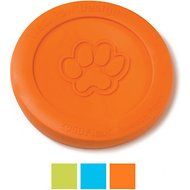 West Paw Zogoflex Zisc Dog Toy, Tangerine, Large
