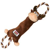 KONG Tuggerknots Moose Dog Toy, Small/Medium