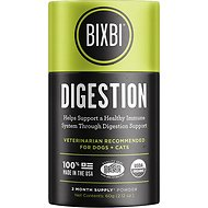 BIXBI Organic Pet Superfood Digestion Daily Dog & Cat Supplement, 2.12-oz jar