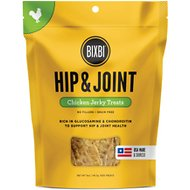 BIXBI Hip & Joint Chicken Jerky Dog Treats, 5-oz bag