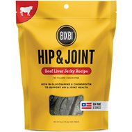 BIXBI Hip & Joint Beef Liver Jerky Recipe Dog Treats, 5-oz bag