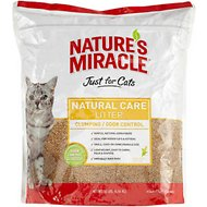 Nature's Miracle Just For Cats Natural Care Cat Litter, 10-lb bag