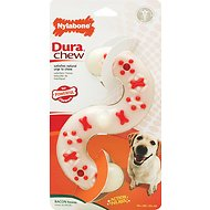 Nylabone DuraChew S-Shape Bacon Flavor Dog Toy, X-Large