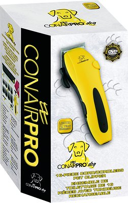 CONAIR 20 pc Rechargeable Cord Cordless clipper /& trimmer Pet Grooming Dogs Cats