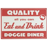 ORE Pet Lucky Diner Placemat, Red