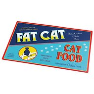ORE Pet Vintage Fat Cat Pet Placemat