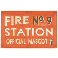 ORE Pet Fire Station No. 9 Placemat