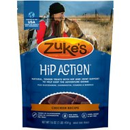 Zuke's Hip Action Roasted Chicken Recipe Dog Treats, 1-lb bag