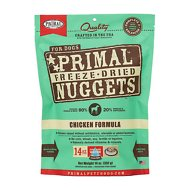 Primal Chicken Formula Nuggets Grain-Free Freeze-Dried Dog Food, 14-oz bag