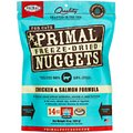 Primal Chicken & Salmon Formula Nuggets Grain-Free Raw Freeze-Dried Cat Food