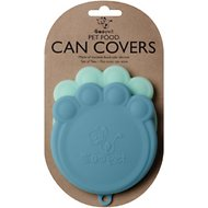 ORE Pet Can Cover, Blue, 2-pack, 4-in wide