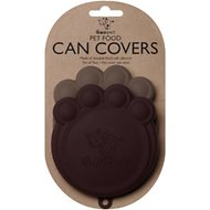 ORE Pet Can Cover, Black/Grey, 2-pack, 4-in wide
