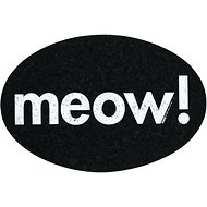 ORE Pet Recycled Rubber Oval Meow! Placemat