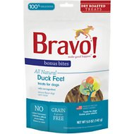 Bravo! Bonus Bites Duck Feet Dry-Roasted Dog Treats, 5-oz bag