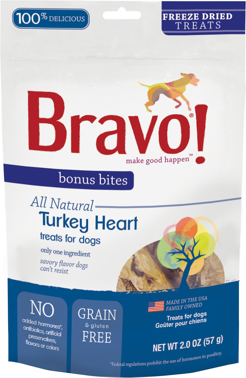 Country Kitchen Dog Treats Bravo Free Shipping At Chewycom