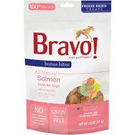 Bravo! Bonus Bites Salmon Freeze-Dried Dog Treats, 2-oz bag