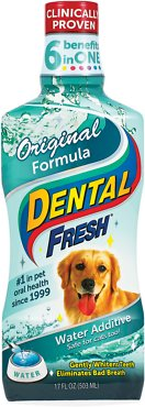 7. Dental Fresh Original Water Additive for Dogs