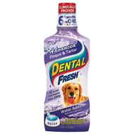 Dental Fresh Advanced Plaque & Tartar Water Additive for Dogs, 17-oz bottle